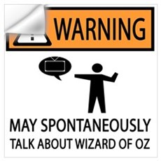 Spontaneously Talk Wizard of Oz Wall Decal