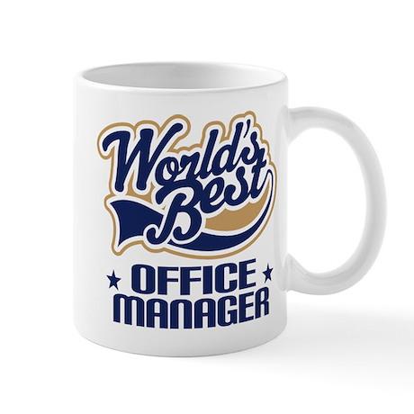 Office Manager (Worlds Best) Gift Mug
