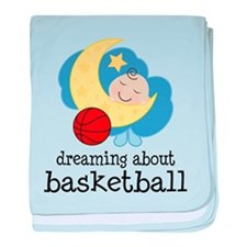 Dreaming About Basketball baby blanket