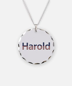 Harold Stars and Stripes Necklace Circle Charm