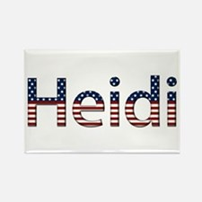 Heidi Stars and Stripes Rectangle Magnet