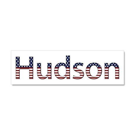 Hudson Stars and Stripes 10x3 Car Magnet