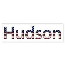 Hudson Stars and Stripes Bumper Bumper Sticker