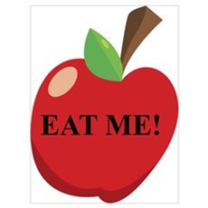 Eat Me Apple Poster