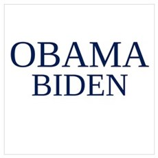 OBAMA BIDEN Canvas Art