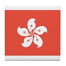 Cute Hong kong Tile Coaster