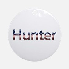 Hunter Stars and Stripes Round Ornament