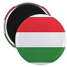 "Cute Hungary flag 2.25"" Magnet (10 pack)"