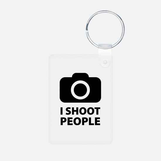 I Shoot People Keychains