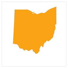 Orange Ohio Poster