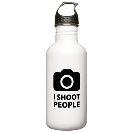 I Shoot People Stainless Water Bottle 1.0L