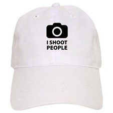 I Shoot People Baseball Cap