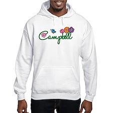 Campbell Flowers Hoodie Sweatshirt