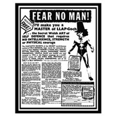 Fear No Man! Poster
