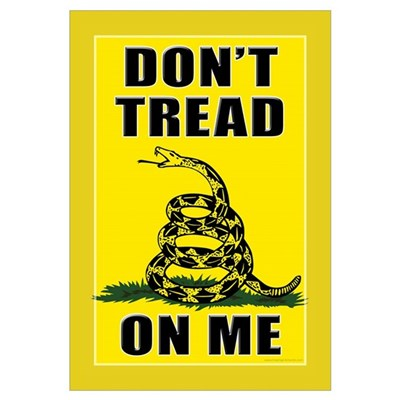 Dont Tread On Me Framed Print
