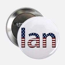 Ian Stars and Stripes Button