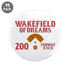 """Wakefield Of Dreams # 200 3.5"""" Button (10 pack)"""