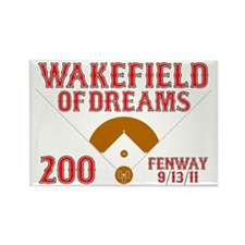 Wakefield Of Dreams # 200 Rectangle Magnet