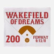 Wakefield Of Dreams # 200 Throw Blanket