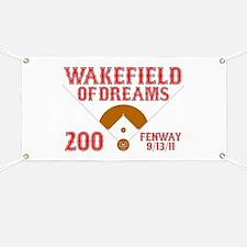Wakefield Of Dreams # 200 Banner