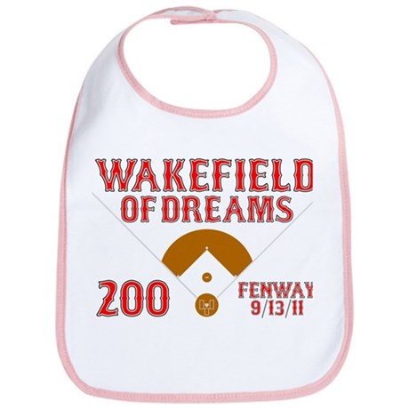 Wakefield Of Dreams # 200 Bib
