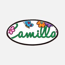 Camilla Flowers Patches