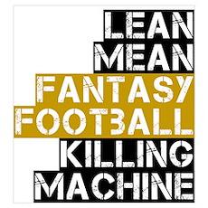 Fantasy Football Killer Poster