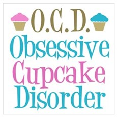 Cupcake Obsessed Canvas Art