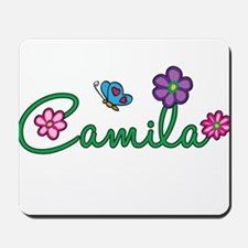 Camila Flowers Mousepad