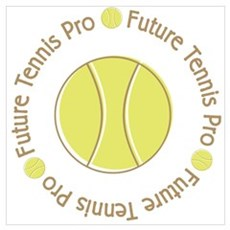 Future Tennis Pro Framed Print