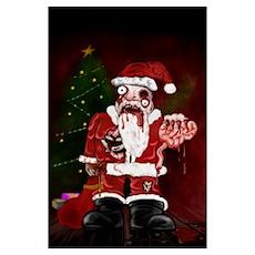 Zombie Santa Poster