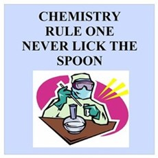 funny chemistry jokes Poster