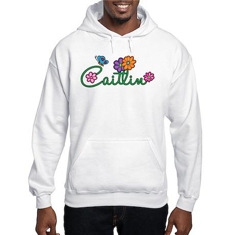 Caitlin Flowers Hooded Sweatshirt