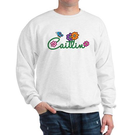 Caitlin Flowers Sweatshirt
