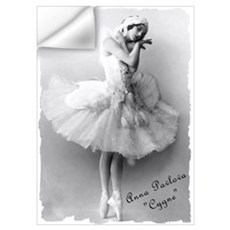 "Anna Pavlova, ""Cygne"" Wall Decal"