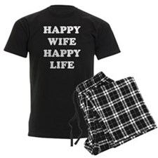 Happy Wife Happy Life Pajamas