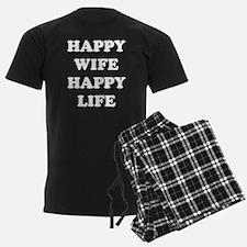 Happy Wife Happy Life Pajamas