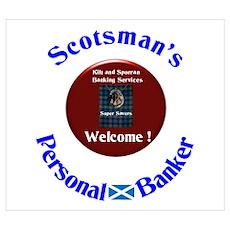Scotland's Super Saver. Poster