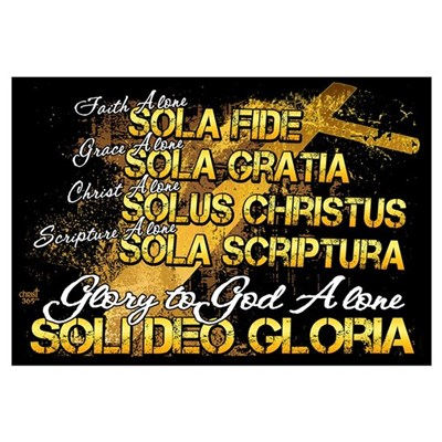 Soli Deo Gloria Canvas Art