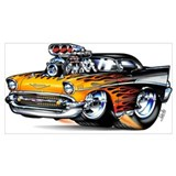 1957 chevy Framed Prints