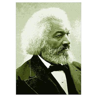 "Frederick Douglass ""Agitate!"" Poster"