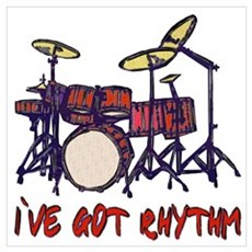 ...I`ve Got Rhythm... Framed Print