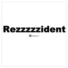 Rezzzzzident Canvas Art