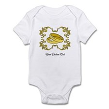Wedding Rings. Custom Text Infant Bodysuit