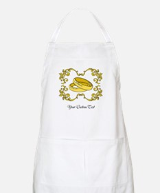 Wedding Rings. Custom Text Apron