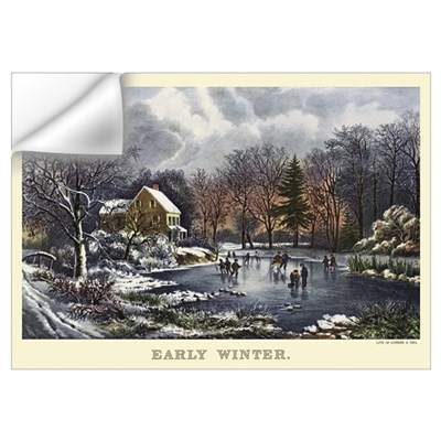 Early Winter Wall Decal