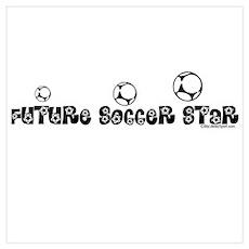 FUTURE SOCCER STAR Poster