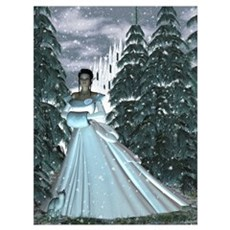 Circe Nymph Snow Queen Poster