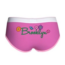 Brooklyn Flowers Women's Boy Brief