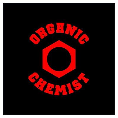 Organic Chemist (red) Poster